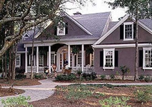Valleydale a colonial country southern style home for Southern style house